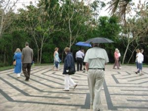 Blessing of our labyrinth